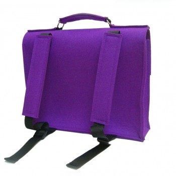 Backside Retro Schoolbag - Purple