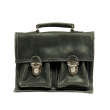 Cartable Vintage - Noir