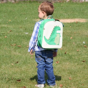 Toddler with Percival Backpack of Beatrix New York