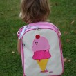 Toddler with Dolce and Panna Backpack