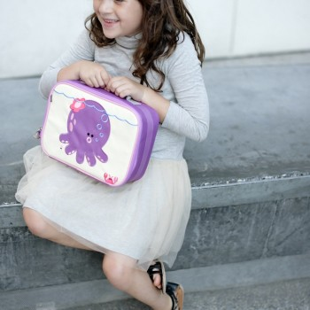 Girl with Penelope Lunch Box